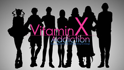 アニメ「VitaminX Addiction」OP (C)「VitaminX OAD」製作委員会