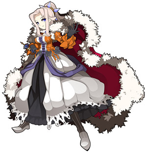 「剣と魔法のログレス」女王 (C)Marvelous Entertainment Inc. Aiming Inc.