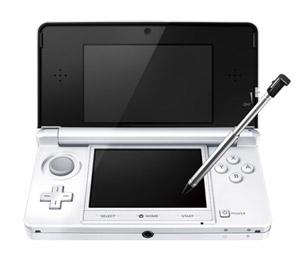 ニンテンドー3DS「アイスホワイト」(C)2011 Nintendo