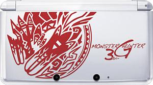 「モンスターハンター3(トライ)G」オリジナルデザインニンテンドー3DS (C)CAPCOM CO., LTD. 2009, 2011 ALL RIGHTS RESERVED.