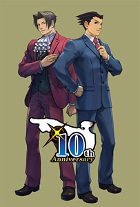 逆転10thイラスト (C)CAPCOM CO., LTD., ALL RIGHTS RESERVED.