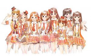 AKB48「選抜総選挙」上位8人をモチーフにしたキャラクターイメージ