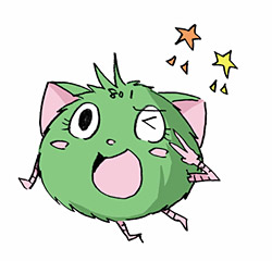 801ちゃん (C) 小島アジコ/御薗橋801商店街振興組合/宙出版(原案キャラクター作成者/はるな)