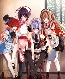「オトコのコはメイド服がお好き!?」メインビジュアル (C)CherryGirls