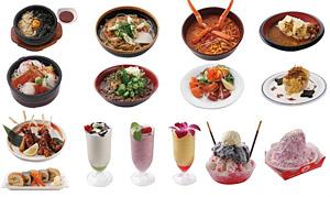 「戦国BASARA 大江戸温泉の宴」オリジナルフードメニュー