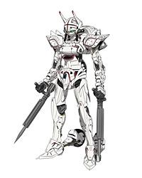 ナイトメア・フレーム「アレクサンダ」 (C)SUNRISE/PROJECT GEASS Character Design (C)2006- 2011 CLAMP