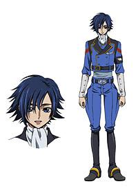日向アキト(CV:入野自由) (C)SUNRISE/PROJECT GEASS Character Design (C)2006- 2011 CLAMP