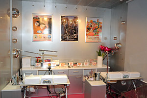 「あゆみーの」店内 (C)Nail Salon Ayumino ALL Rights Reserved.