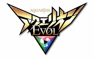 「アクエリオンEVOL」ロゴ (C)河森正治・サテライト/Project AQUARION EVOL