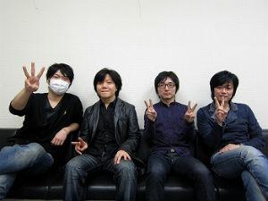 小西克幸さん、杉山紀彰さん、野島裕史さん、遊佐浩二さん