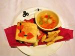 『コードギアスカフェ』トランプのサンドイッチプレート