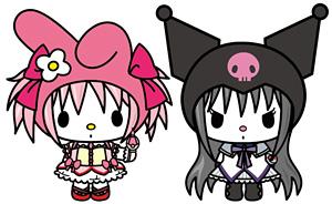 魔法少女まどか☆マギカ × 「マイメロディ」、「クロミ」(C)1976,2005,2012 SANRIO CO., LTD. TOKYO, JAPAN (L) (C)MagicaQuartet/Aniplex・MadokaPartners・MBS APPROVAL NO.530567