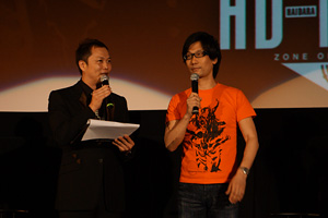「ZONE OF THE ENDERS HD(はいだら)-NIGHT」小島監督 (C)2012 Konami Digital Entertainment