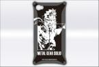 MGS iPhoneケース スネークタイプ ブラック (C)Konami Digital Entertainment