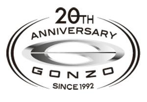 ゴンゾ20周年ロゴ