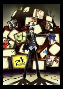アニメ『ペルソナ4』キービジュアル (C)Index Corporation/「ペルソナ4」アニメーション製作委員会