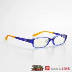 「TIGER & BUNNY コラボレーションアイウエア Designed by JINS」ワイルドタイガーTOPMAGモデル (C)SUNRISE/T&B PARTNERS, MBS