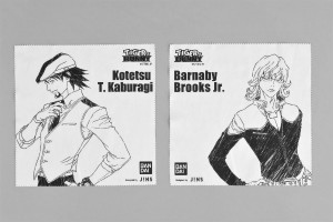 「TIGER & BUNNY コラボレーションアイウエア Designed by JINS」セリート(眼鏡ふき) (C)SUNRISE/T&B PARTNERS, MBS