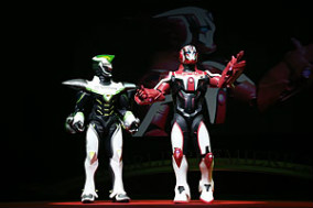 「劇場版 TIGER & BUNNY -The Beginning-」WORLD PREMIERE (C)SUNRISE/T&B MOVIE PARTNERS