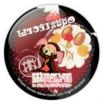 75ミリ缶バッジ「劇場版 魔法少女まどか☆マギカ in ナムコ・ナンジャタウン」 (C)Magica Quartet/Aniplex・Madoka Movie Project