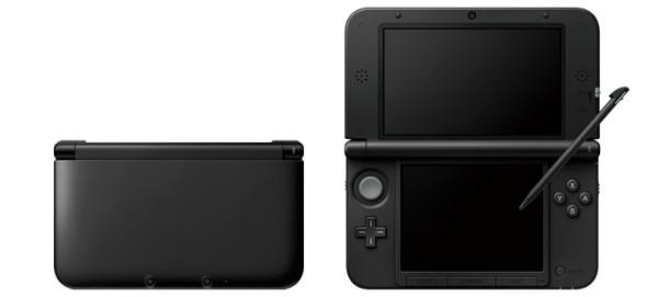 ニンテンドー3DS LL新色「ブラック(BLACK)」 (C)2012 Nintendo
