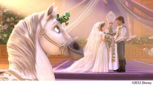 """""""ラプンツェルのウェディング""""『シンデレラ ダイヤモンド・コレクション』 (C)2012 Disney"""