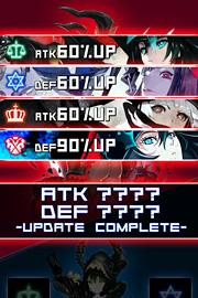 ゲーム画面 『ブラック★ロックシューター アルカナ』 (C) huke / B★RS Project (C) S&P B★RS ARCANA Project
