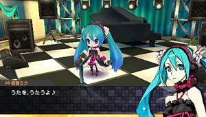 謎の歌姫「初音ミク TYPE2021」場面写真 (C)SEGA (C)Crypton Future Media, Inc. www.piapro.net