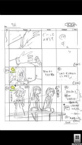 『ゆるゆり(第2期)絵コンテアプリ 第2話』 (C)なもり/一迅社・七森中ごらく部 Copyright (C) 2012 DOGA KOBO All rights reserved.