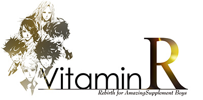 『VitaminR』ロゴ (C)2013 Rejet (C)2013 D3 PUBLISHER