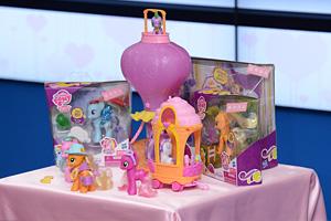 『マイリトルポニー~トモダチは魔法~』輸入玩具 (C) 2013 Hasbro. All rights reserved. Licensed by Hasbro