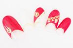 『うたの☆プリンスさまっ♪debut』キャラクターネイル「一十木音也」 (C) 早乙女学園 Illust.工画堂スタジオ