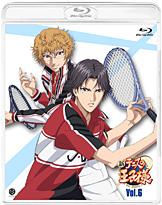 『新テニスの王子様 Vol.6』Blu-rayジャケット (C)許斐 剛/集英社・NAS・新テニスの王子様プロジェクト