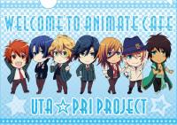 A4クリアファイル「うたの☆プリンスさまっ♪マジLOVE1000%」×「アニメイトカフェ」 (C) UTA☆PRI PROJECT