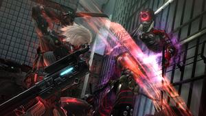 モンスーンとの戦い『メタルギア ライジング リベンジェンス』場面写真 (C)Konami Digital Entertainment  Developed by PlatinumGames Inc.