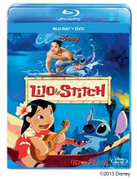 『リロ&スティッチ ブルーレイ+DVDセット』ジャケット画像 (C) 2013 Disney