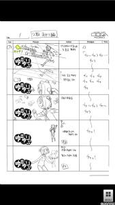 「ゆるゆり(第2期)絵コンテアプリ OP&ED」(C)なもり/一迅社・七森中ごらく部 Copyright (C) 2012 DOGA KOBO All rights reserved.