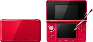ニンテンドー3DS メタリックレッド(METALLIC RED) (C)2013 Nintendo
