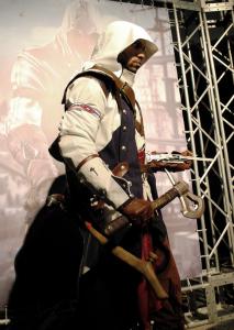 『アサシン クリードⅢ』公式コスチューム展示(C)2012 Ubisoft Entertainment. All Rights Reserved.  Assassin's Creed, Ubisoft and the Ubisoft logo are trademarks of Ubisoft Entertainment in the U.S. and/or other countries.