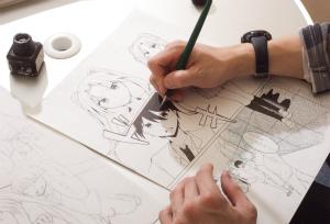 出張描き方セミナー&持込会 イメージ