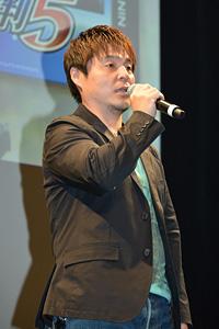 江城元秀氏 3DS『逆転裁判5』完成披露会 写真:オタラボ【otalab】 (C)CAPCOM CO., LTD. 2013 ALL RIGHTS RESERVED.