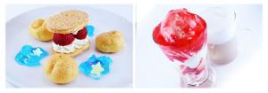 「うたの☆プリンスさまっ♪マジLOVE2000%」×アニメイトカフェ デザートメニュー (C)UTA☆PRI-2 PROJECT