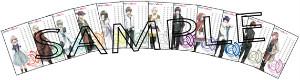 『薄桜鬼』『AMNESIA』『NORN9 ノルン+ノネット』FOOTキャラクターネイル・メッセージカード (C) IDEA FACTORY/DESIGN FACTORY (C) IDEA FACTORY