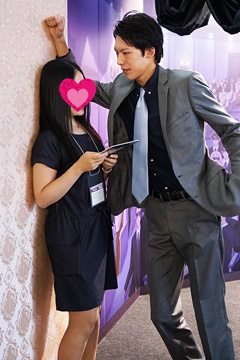 【TGS2014】ボルテージブース「スイートルームで悪戯なキス」
