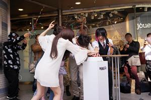 新ニコニコ本社 テレビちゃんモニター点灯式