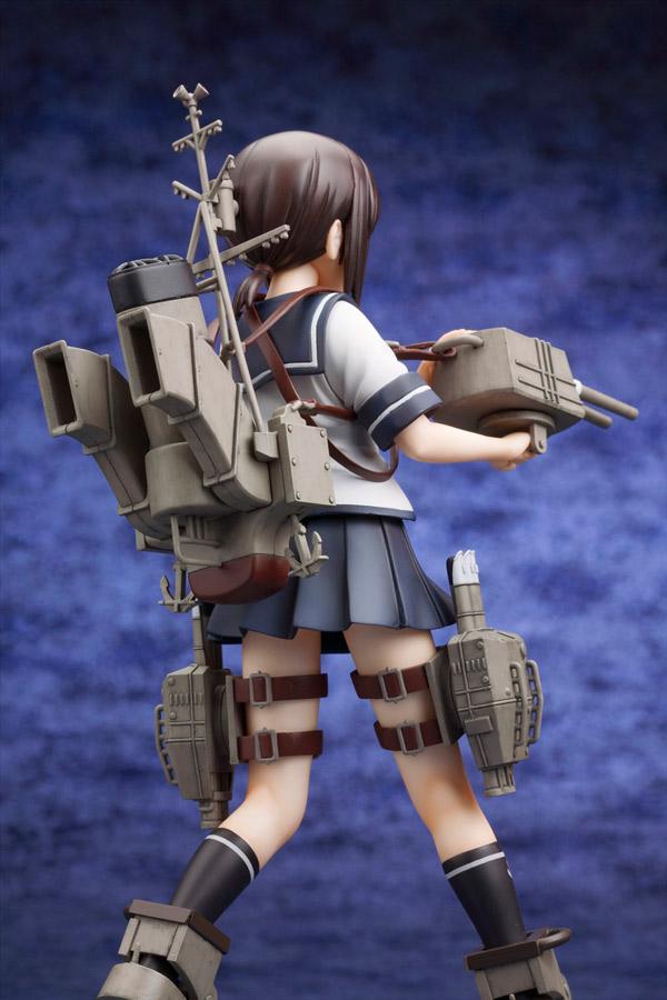 『艦隊これくしょん -艦これ-』駆逐艦「吹雪」フィギュアが2015年6月に発売開始 (C) 2015 DMM.com/KADOKAWA GAMES All Rights Reserved.