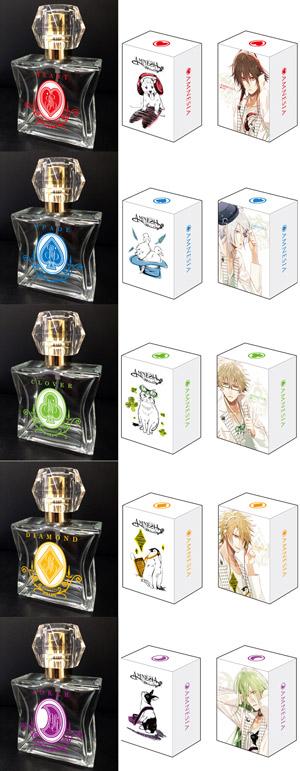 オトメイトゲーム『AMNESIA』キャラクターをイメージした香水がリメイクして登場 (C)IDEA FACTORY/DESIGN FACTORY