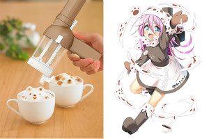 3Dラテメーカーアワタチーノ&こだち『家電少女』 (C)Aniplex Mobile (C)2015 T-ARTS