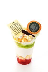 SB1.「このスリルたまんないショ!!」巻島のオレ練パフェ_830円(0916~1201販売)
