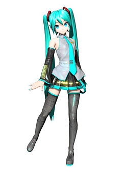 初音ミク (C) SEGA. (C) 2011 CRYPTON FUTURE MEDIA, INC.